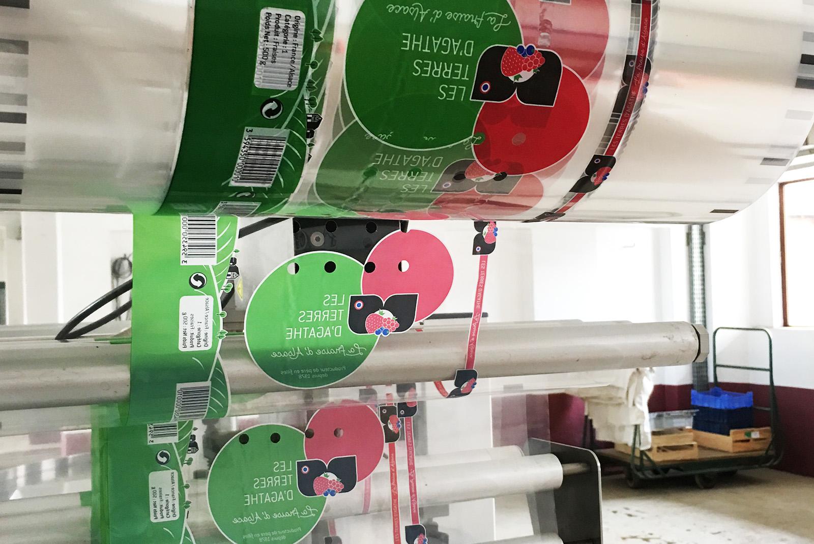 Packaging film Agathe