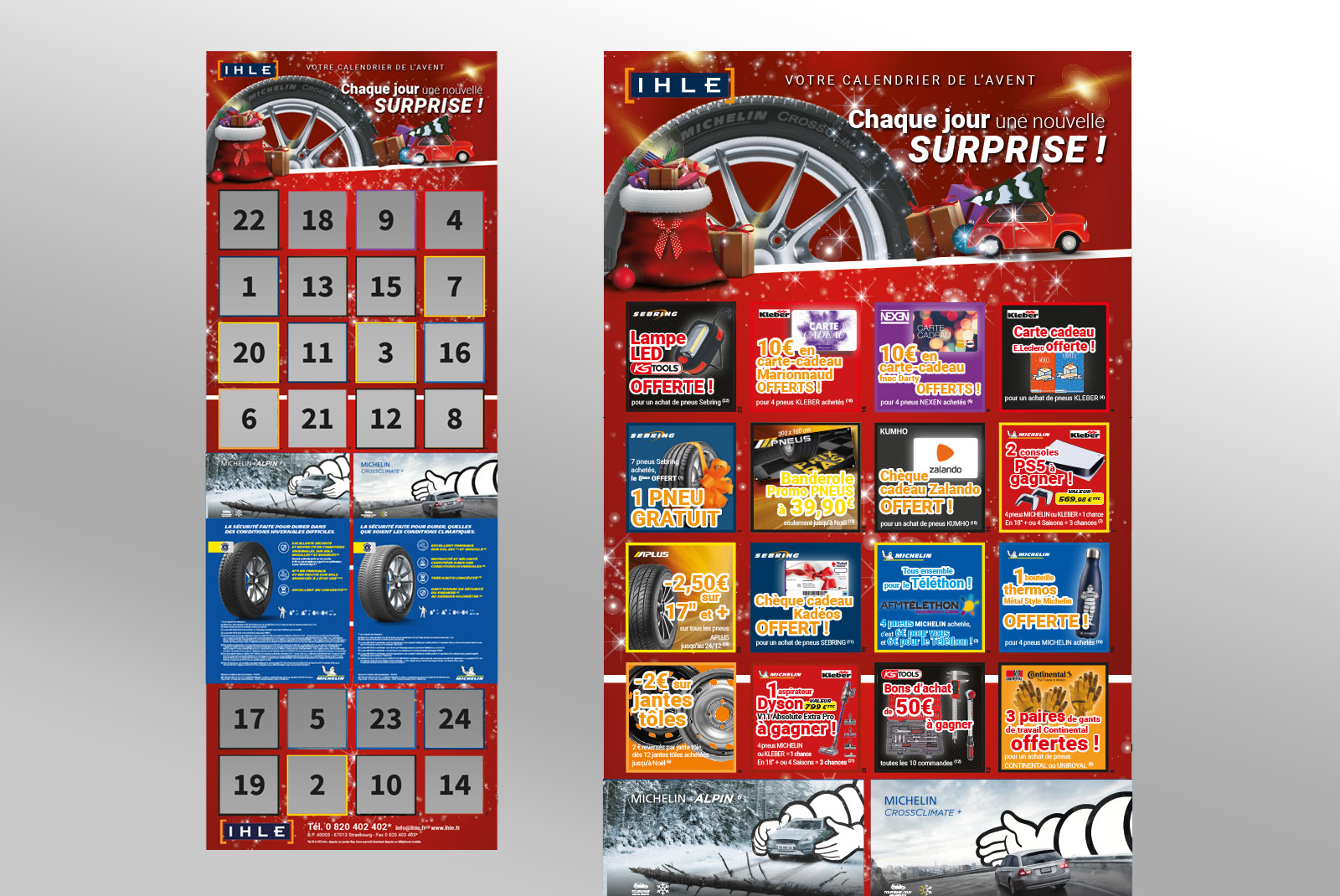 Calendrier Avent Ihle
