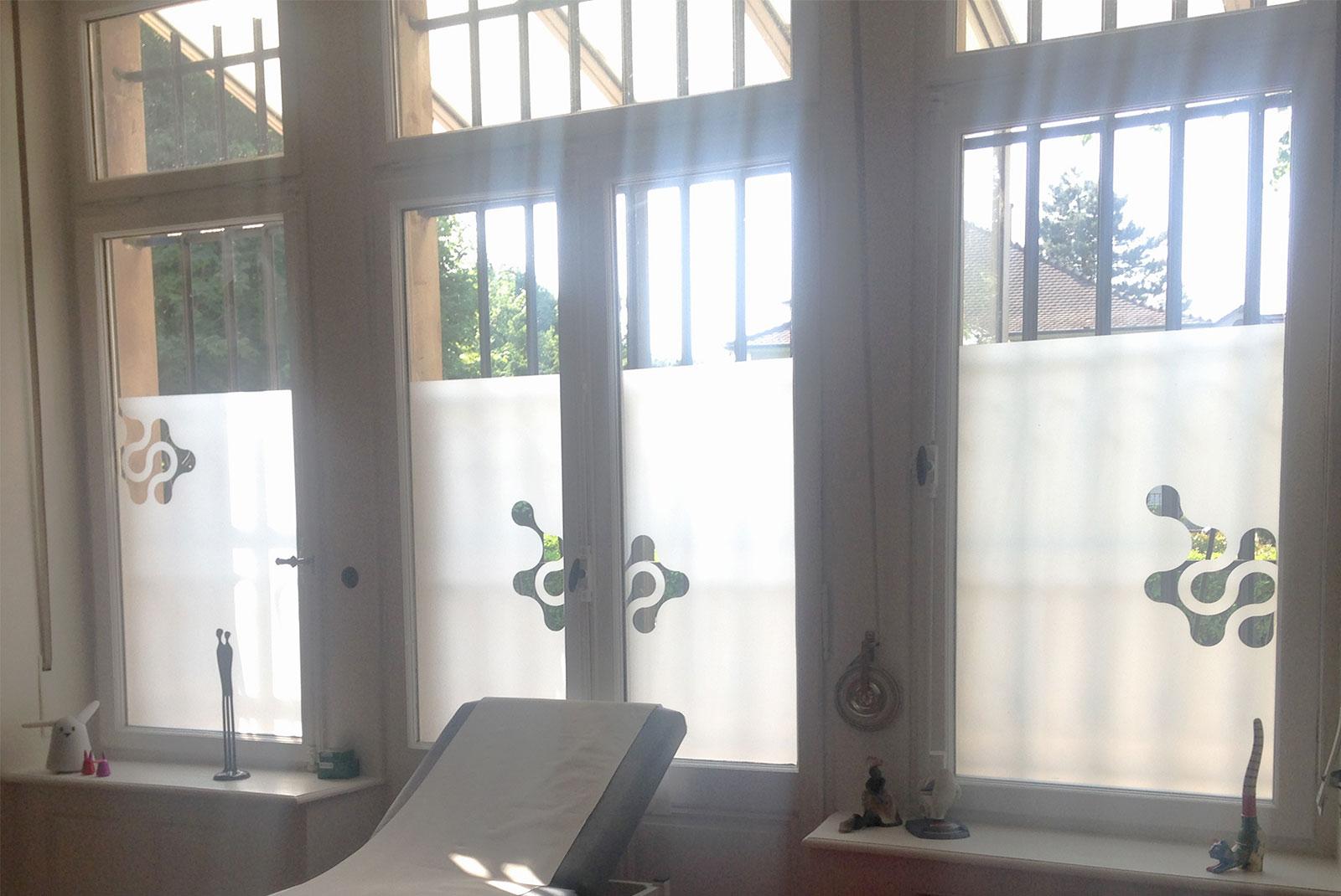 Signalétique fenêtre Villeminot